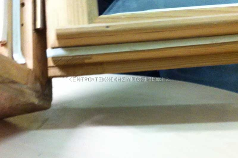Θερμομόνωση Ξύλινων Κουφωμάτων (Λάστιχα & Διπλά τζάμια)